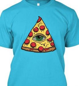 Illuminati Pizza shirt