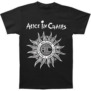 Alice In Chains sun t-shirt