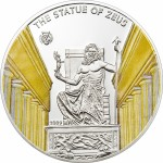 Palau coin: The Statue of Zeus at Olympia
