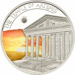 Palau coin: The Temple of Artemis