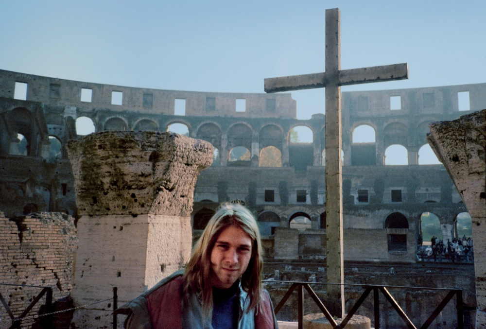 Kurt Cobain at Roman Colleseum 1989