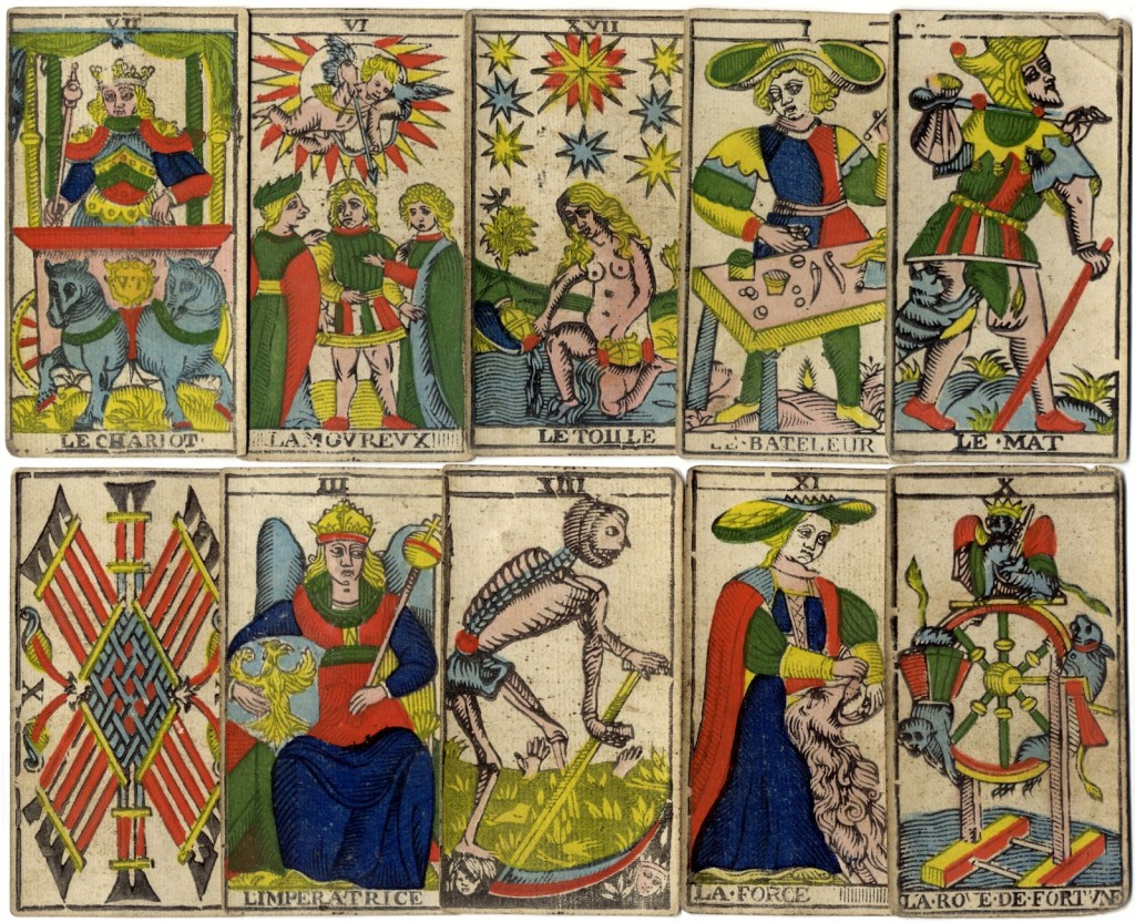 Marseille Tarot 17th century deck